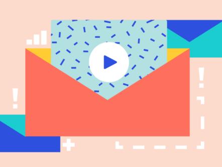 Vídeo em e-mail